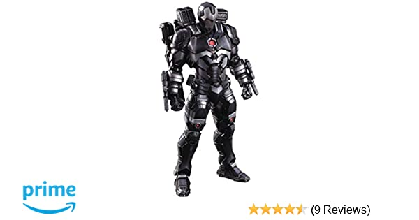 Marvel Iron Man Rhodes James War Machine SquareEnix VARIANT Play Arts IN BOX