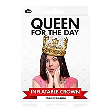 """Corona hinchable """"Reina por un día"""": Amazon.es: Juguetes y ..."""