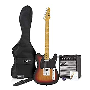 Guitarra Eléctrica Knoxville + Pack de Ampli - Sunburst: Amazon.es: Instrumentos musicales