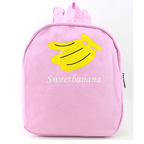 Paymenow Women Fashion Canvas Fruit Watermelon Hiking Daypack Travel Satchel School Bag Backpack Bag Gift Bag (Black) - Yellow Oakleys And Black
