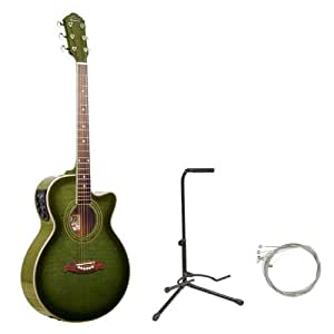 oscar schmidt by washburn og10ce full size cutaway acoustic electric guitar combo. Black Bedroom Furniture Sets. Home Design Ideas