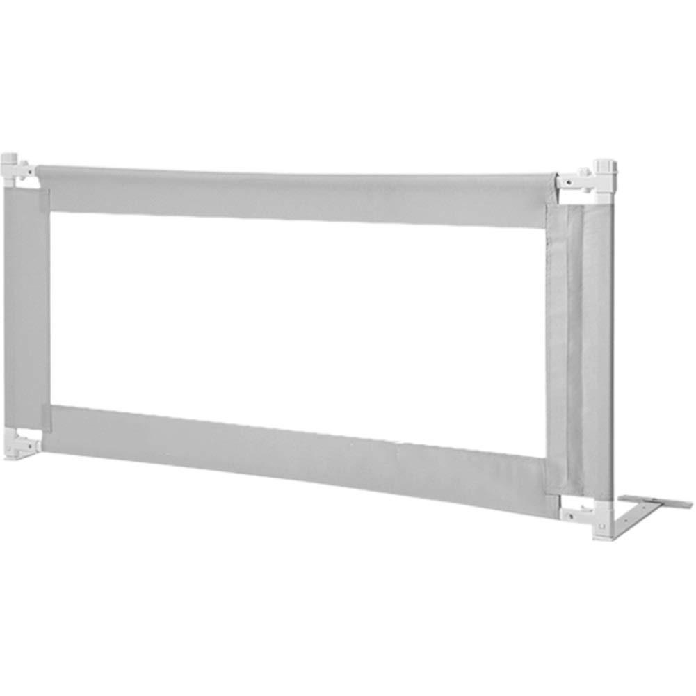 WHAIYAO ベッドレールベビーフェンス垂直リフティング高品質オックスフォード布通気性メッシュ表面3色 (Color : Gray, Size : 150X78cm) 150X78cm Gray B07SX2MZSZ