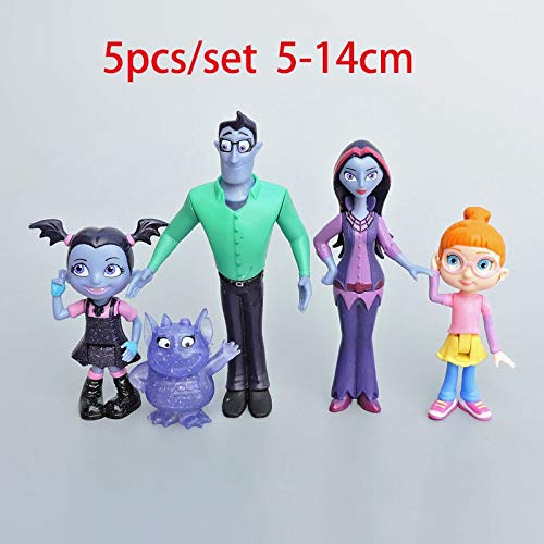IKFigu Action & Toy Figures - Light & Sound Movie Junior Vampirina Cute Dolls Toys The Vamp Batwoman Girl 18/33cm Action Figure Toys for Kids Party Gift 1 PCs