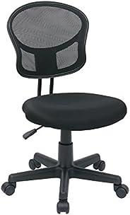 OSP Designs Armless Mesh Task Chair