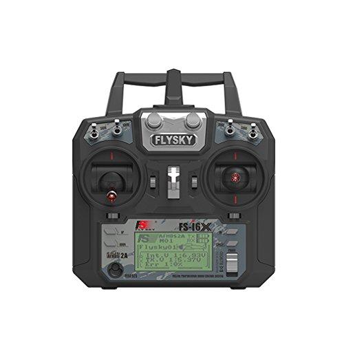 Flysky FS-i6X RC Transmitter TX 2.4GHz 6-10CH Channel Transmitter (with IA10B 10CH Receiver)