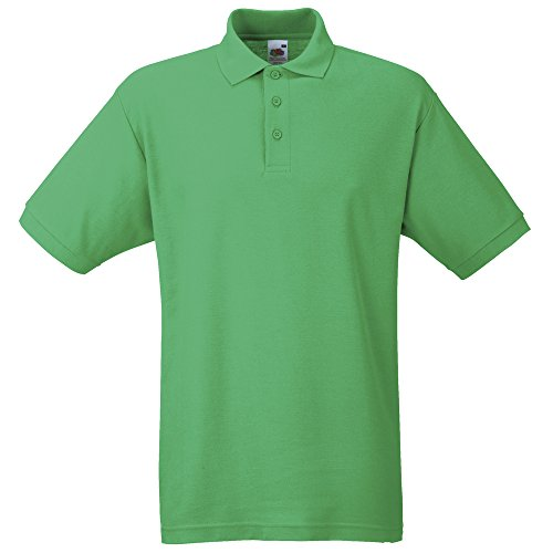 Fruit of the Loom 65/35 Polo Kelly Green 2XL