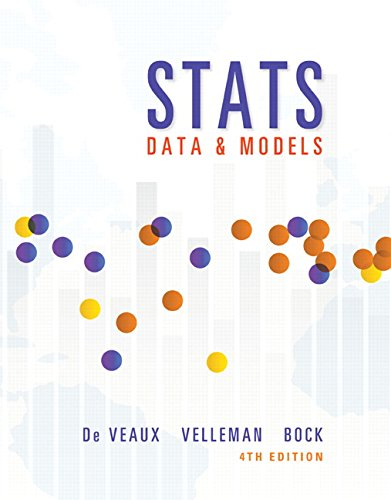(Stats: Data and Models (4th Edition))