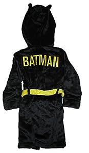 DC Comics Big Boys' Batman Velvet Fleece Hooded Robe at Gotham City Store