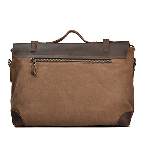 Body Genuine Canvas Ipad Satchel Teenage Outdoor Peak Boy Ladies Hand Across Laptop Men For Messenger Design Army Shoulder Briefcase Leather Travel Work Green Book Bag IHPpvP8xqw