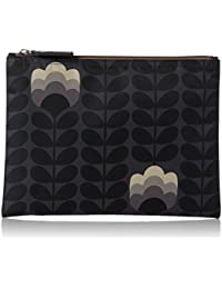 Buttercup Stem Printed Large Zip Pouch
