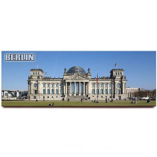 Reichstag panoramic fridge magnet Berlin travel souvenir