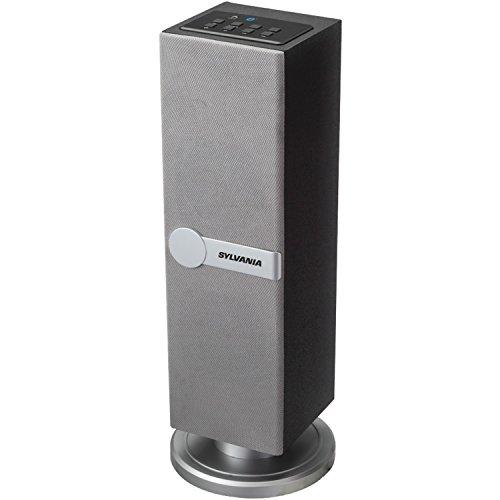 Sylvania SP269 Silver Bluetooth Standing Speaker