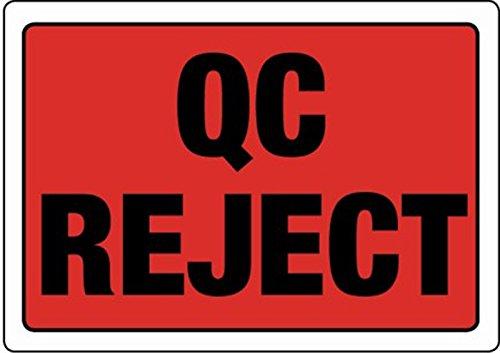 Swiftpak 86 x 63mm'QC Reject' labels (Roll of 500) Swiftpak Limited LAVLQRJ1