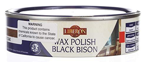 Liberon Black Bison Paste Wax Dark Oak 150ml