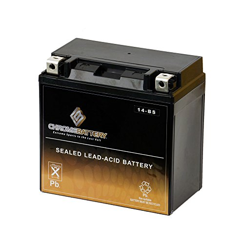 Chrome Battery YTX14-BS