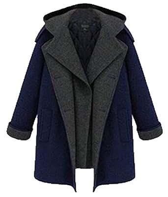 Amazon.com: Women's Plus Size Winter Wool Blend Mid Length