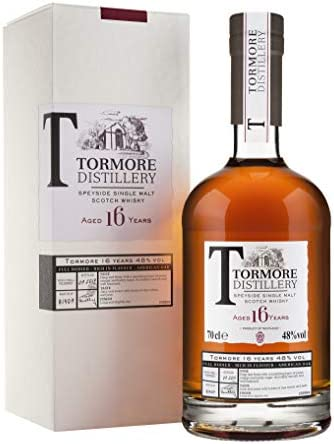 Tormore 16 Years Old Speyside Single Malt Scotch Whisky - 700 ml