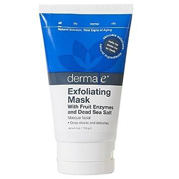 Amazon.com: Derma e: Exfoliante Máscara con fruta enzimas, 4 ...