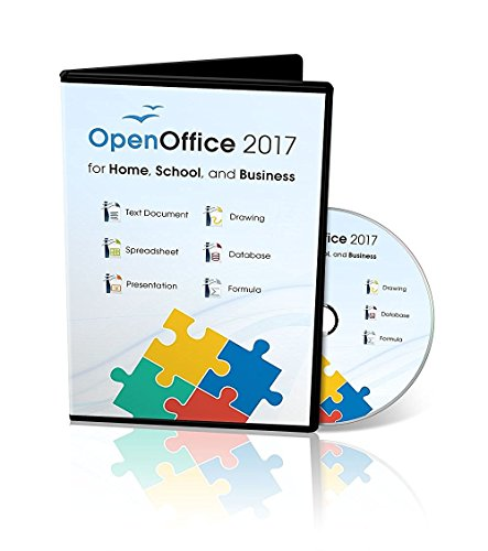 Office Suite 2017 Home Student and Business by Apache OpenOfficeTM for PC Microsoft Windows 10, 8.1 8 7 Vista XP 32 64bit| Alternative to Microsoft Office | Compatible with Word, Excel and PowerPoint (Clipart Powerpoint)