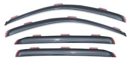 Lund 184800 Ventvisor Elite Side Window Deflector for 2007-2012 Nissan Altima, 4 Piece (Altima 4 Piece)