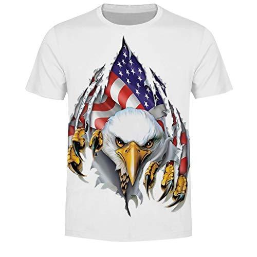 Letdown_Men tops Men Tshirts Graphic Funny Short Sleeve Couple Summer Flag Printed Baseball Uniform Casual Loose Shirts