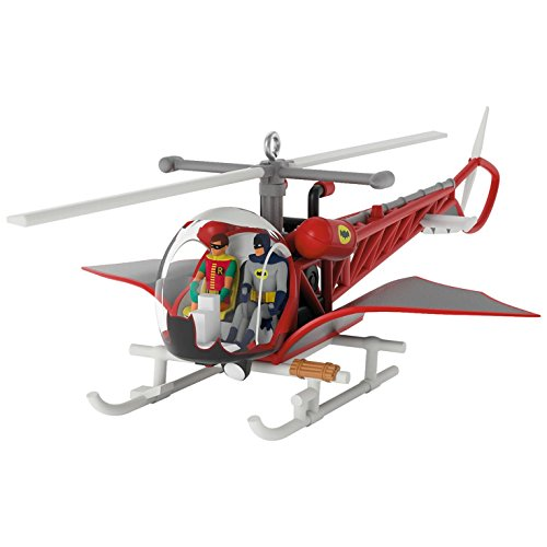 Hallmark Keepsake 2017 BATMAN CLASSIC TV SERIES Batcopter Christmas - City Stores Capital Mall