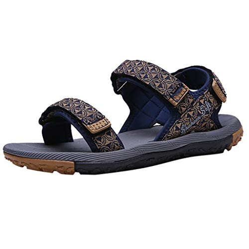 Lefthigh Summer New Casual Trend Velcro Men's Sandals Outdoor Sports Open Toe Breathable Beach Sandal