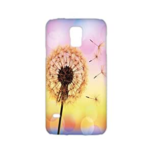 Durable Platic Case Cover for Samsung Galaxy S5-Dandelion Pattern Printed Cell Phones Shell