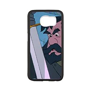 Samsung Galaxy S6 Cell Phone Case White The Sword in the Stone Character Black Bart L6V1D