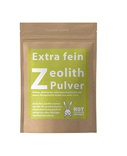 Extra fein Zeolith Pulver - 500-2500g mit 95% Klinoptilolith Anteil -Premium Qualität- (2500g)