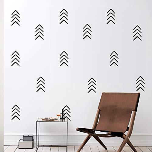 (Set of 12 Vinyl Wall Art Decals - Arrows - 8