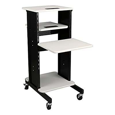 Norwood Commercial Furniture Laptop Caddy Cart Presentation Station