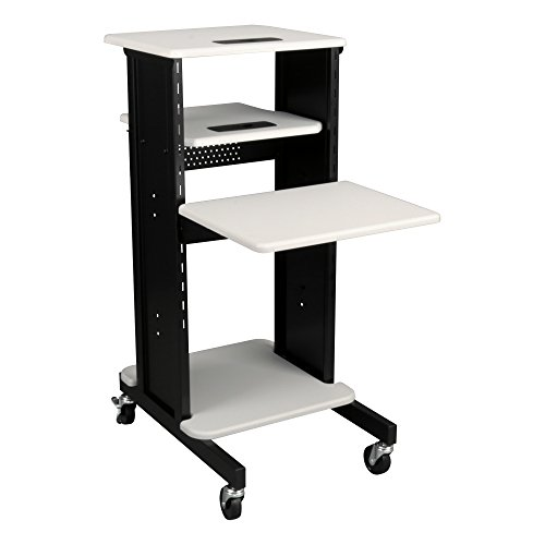 Norwood Commercial Furniture Laptop Caddy Cart Presentation Station, NOR-TY-1000 -