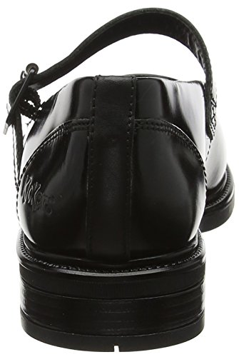 Kickers Women's Lachly Patent Mary Janes Black (Black 0001) HCLivV