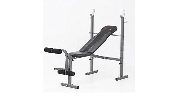 Everfit – Pack – Banco de pesas + barra de musculación EVERFIT wbk-500: Amazon.es: Deportes y aire libre