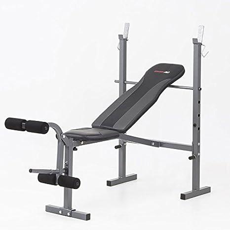 Everfit - Pack - Banco de pesas + barra de musculación EVERFIT wbk ...