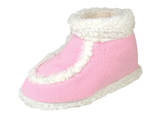 Star Bay Children's Terry Shoes Lined with Faux Fur 8704 , P