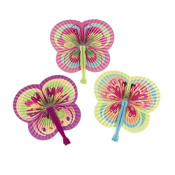 12 Butterfly Shaped Folding (Butterfly Party)