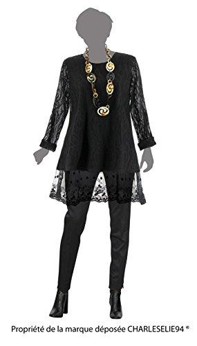 Charleselie94® - Camisas - para mujer negro