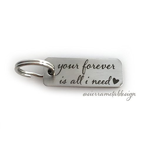 Your Forever is All I Need Keychain Wife Girlfriend Keychain Anniversary Keychain I Still Do Key chain Keychain Gift Mens Gift 10 years Gift 8 year Gift (8 Years Anniversary Gifts)