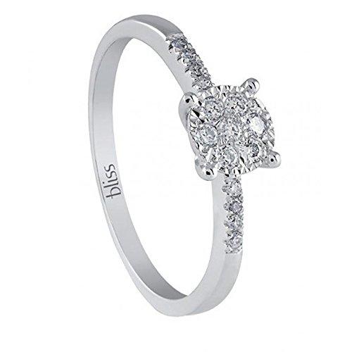 Bague Bliss pour femme 2004461614.0_ 0-Or blanc Diamant Taille 14.0