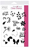 Thermoweb Gina K Designs Stamp Set-Petals & Wings