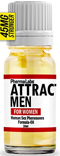 (INSTANTLY ATTRACT MEN SCENTED SEX PHEROMONES PURE OIL Perfume 10 ML GUARANTEED! TO WORK 45mg)