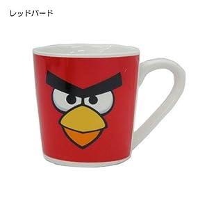 アングリーバード/ANGRY BIRDS 陶器製マグカップキャラクターグッズ 【レッドバード】