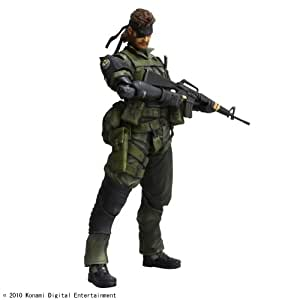 Metal Gear Solid Peace Walker - Play Arts Kai Vol.3 - SNAKE - Jungle Fatigues... (japan import)