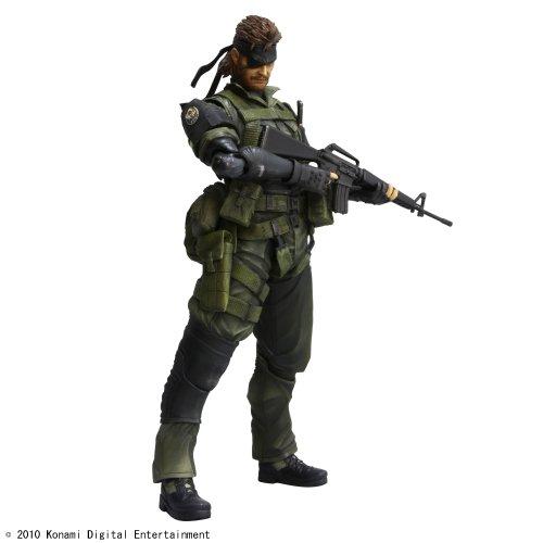 Metal Gear Solid Peace Walker - Play Arts Kai Vol.3 - SNAKE - Jungle Fatigues - Action Figure