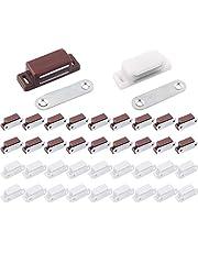 Liuer Magneetsluiting, voor kast, gereedschapskist, schuiflade, kast, kast, kast, kast, kast, kast, 40 stuks