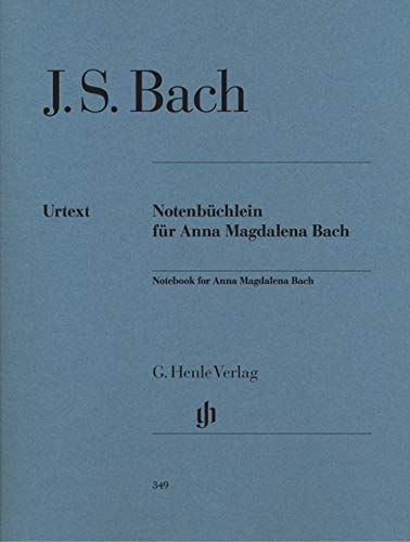 Book Bach Magdalena Anna (Bach: Notebook for Anna Magdalena Bach)