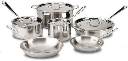 Amazon.com: All-Clad 401599 - Juego de utensilios de cocina ...