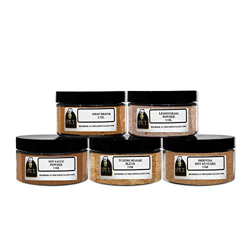 Chef Cherie's Baking Spice Gift Set #1 - Contains 5 4 ounce jar hold 2 ounces